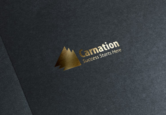 Print on Demand: CARNATION Logo Template Graphic Logos By denestudios