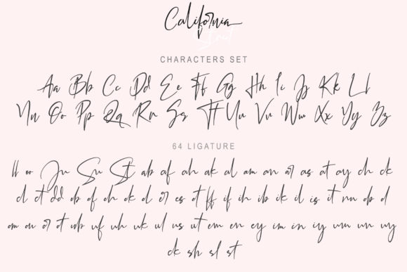 Print on Demand: California Street Script & Handwritten Font By thomasaradea - Image 13