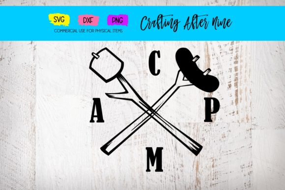 Print on Demand: Camp Marshmellow Graphic Crafts By Crafting After Nine
