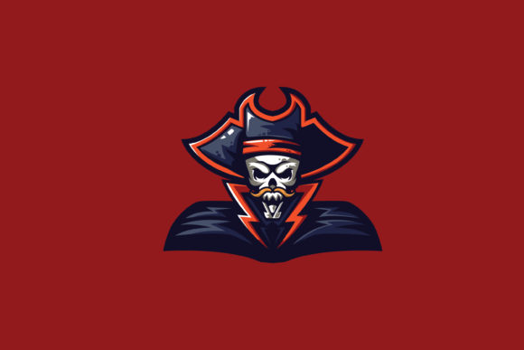 Capt Pirate E Sports Logo Graphic By Ovoz Graphics Creative