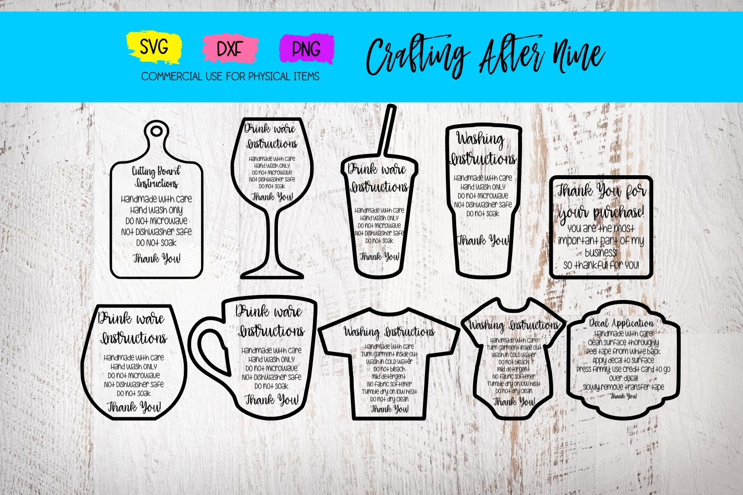 Download Free Care Card Bundle Graphic By Crafting After Nine Creative Fabrica for Cricut Explore, Silhouette and other cutting machines.
