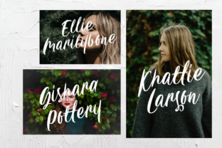Print on Demand: Carily Display Font By Angin Studio 9