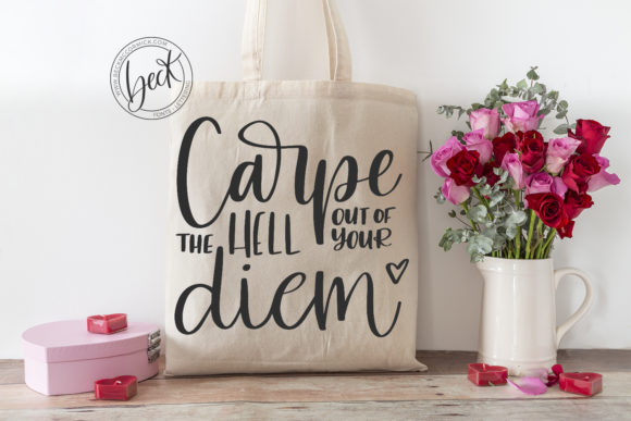 Download Free Carpe Diem Graphic By Beckmccormick Creative Fabrica SVG Cut Files