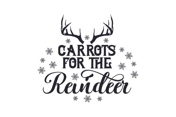 Carrots for the Reindeer Christmas Craft Cut File By Creative Fabrica Crafts - Image 2