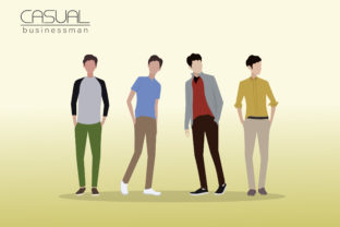 Casual Businessman 3 Graphic By faldy.kudo