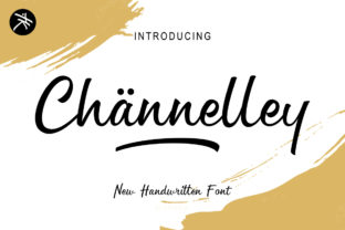 Channelley Script & Handwritten Font By ariefmoenandar2