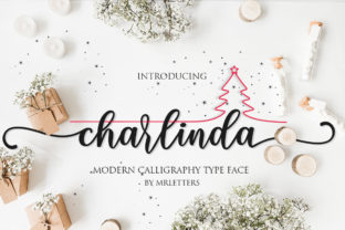 Charlinda Font By Mrletters