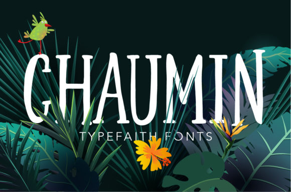 Print on Demand: Chaumin Display Font By TypeFaithFonts