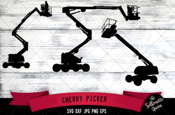 Download Free Cherry Picker Graphic By Thesilhouettequeenshop Creative Fabrica for Cricut Explore, Silhouette and other cutting machines.