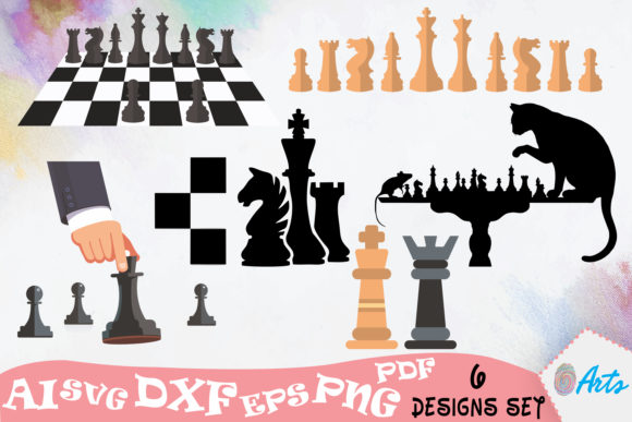 Chess Vector Graphic Illustrations By DigitEMB - Image 1