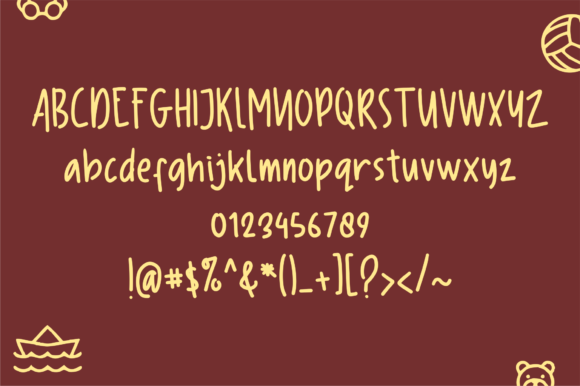 Child's Play Font By geadesign Image 2