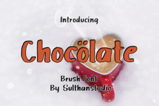 Chocolate Font By Sulthan Studio
