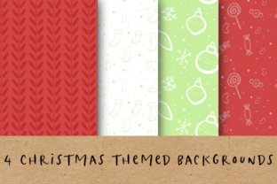 Christmas Backgrounds Graphic Backgrounds By BecWaterhouse