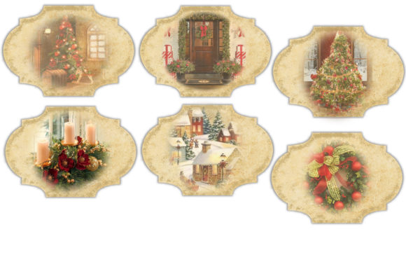 Christmas Backgrounds with Tags Graphic By The Paper Princess Image 11