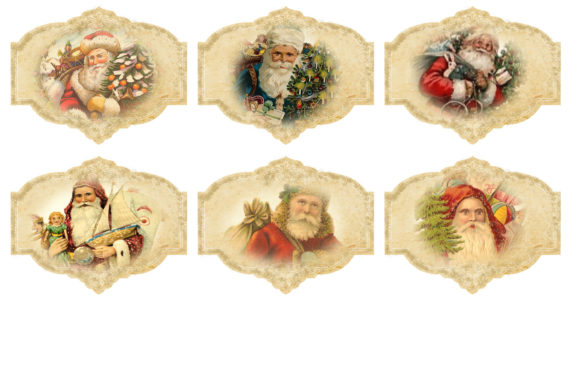 Christmas Backgrounds with Tags Graphic By The Paper Princess Image 6