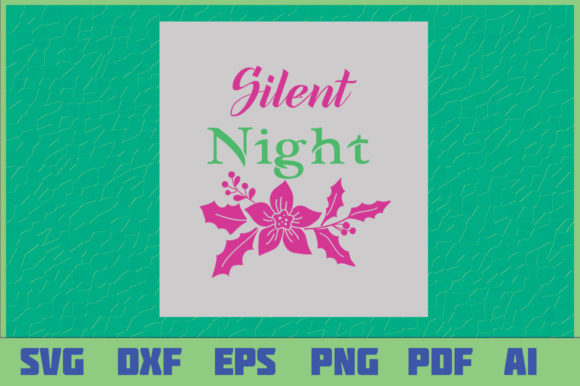 Christmas Design Silent Night Graphic Crafts By sajidmajid441