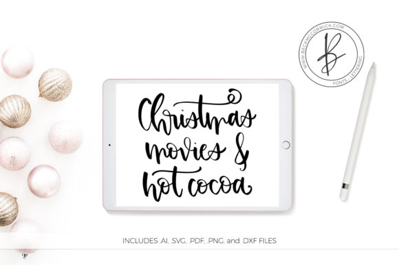 Download Free Christmas Movies Hot Cocoa Graphic By Beckmccormick Creative for Cricut Explore, Silhouette and other cutting machines.