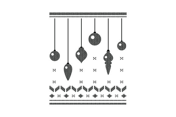 Download Free Christmas Ornaments Ugly Sweater Style Svg Cut File By Creative SVG Cut Files