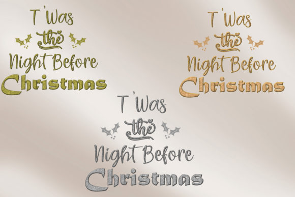 Print on Demand: Christmas Quotes Clipart Graphic Crafts By The Paper Princess - Image 12