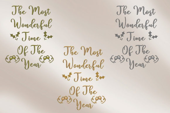 Print on Demand: Christmas Quotes Clipart Graphic Crafts By The Paper Princess - Image 15