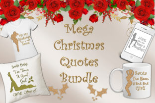 Christmas Quotes Clipart Graphic By The Paper Princess