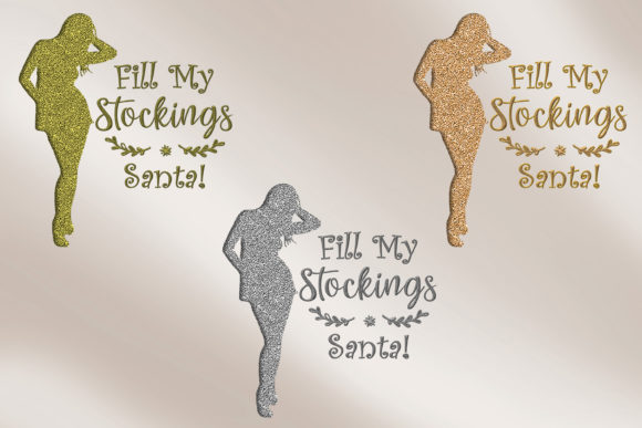 Print on Demand: Christmas Quotes Clipart Graphic Crafts By The Paper Princess - Image 5