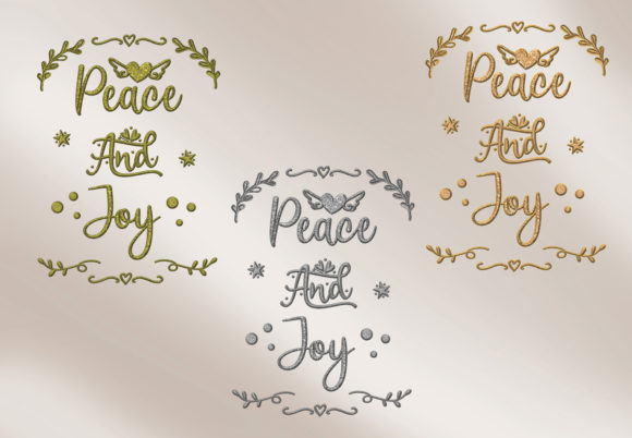 Print on Demand: Christmas Quotes Clipart Graphic Crafts By The Paper Princess - Image 7