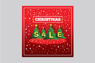 Download Free Christmas Sale Banner Template Design Graphic By Fatrin99art for Cricut Explore, Silhouette and other cutting machines.