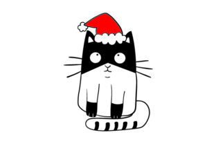 Christmas Cat Craft Design By Creative Fabrica Crafts