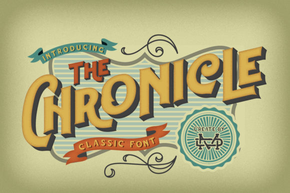 Print on Demand: Chronicle Display Font By madeDeduk - Image 1