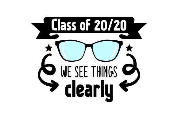 Download Free Class Of 2020 We See Things Clearly Back To School Svg Cut File for Cricut Explore, Silhouette and other cutting machines.