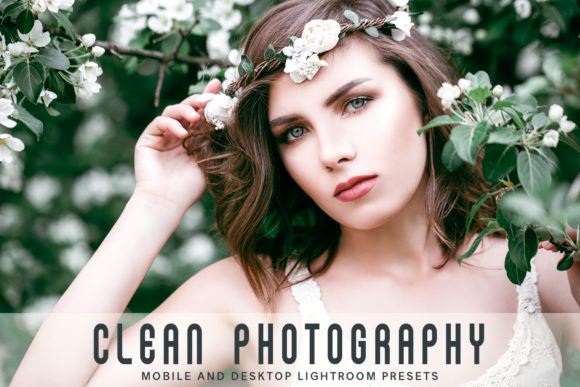 Print on Demand: Clean Photography Lightroom Presets Pack Graphic Actions & Presets By Creative Tacos - Image 1