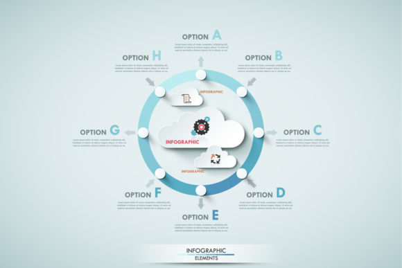 Cloud Infographics Graphic Infographics By a.p.krasov - Image 2