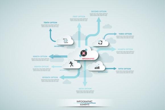 Cloud Infographics Graphic Infographics By a.p.krasov - Image 3