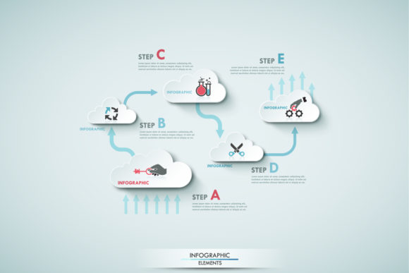 Cloud Infographics Graphic Infographics By a.p.krasov - Image 4