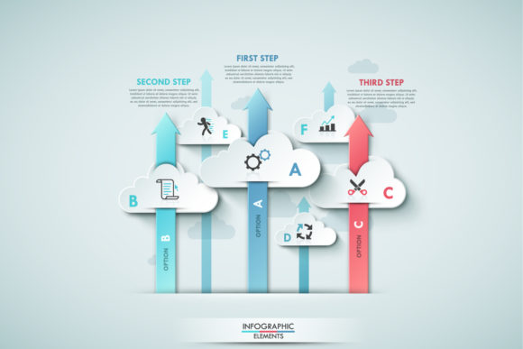 Cloud Infographics Graphic Infographics By a.p.krasov - Image 5