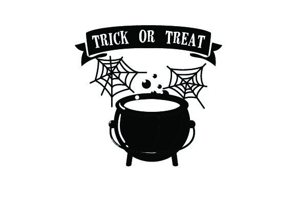 Download Free Cob Webs Cauldron Trick Or Treat Svg Cut File By Creative for Cricut Explore, Silhouette and other cutting machines.