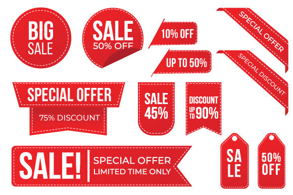 Collection Red Special Discount Graphic Product Mockups By Qasas77