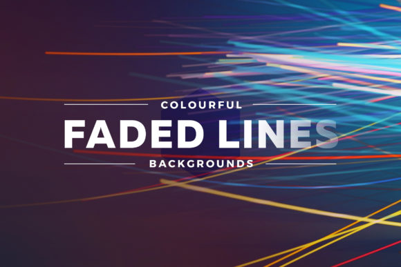 Colorful Faded Lines Background Graphic Backgrounds By Shemul