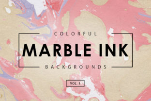 Colorful Marble Ink Backgrounds 1 Graphic By ArtistMef