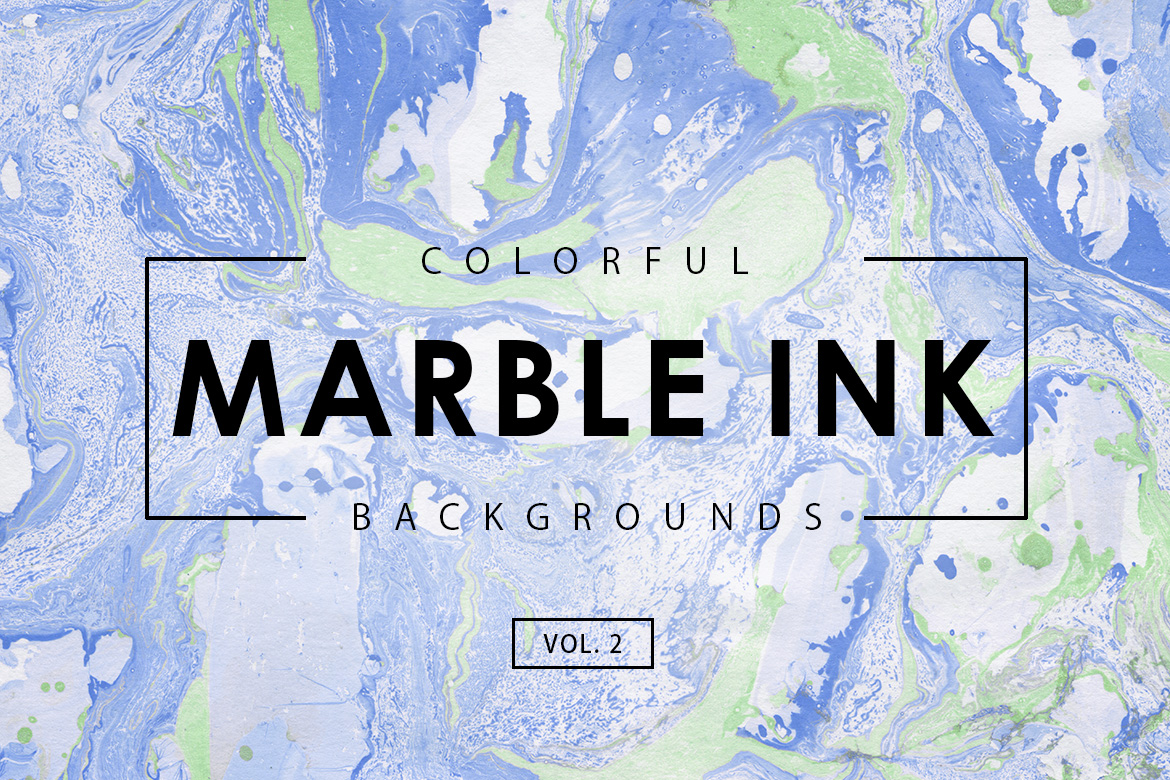 Colorful Marble Ink Backgrounds 2 Graphic By Artistmef