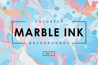 Colorful Marble Ink Backgrounds 3 Graphic By ArtistMef