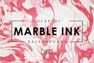 Colorful Marble Ink Backgrounds 4 Graphic By ArtistMef