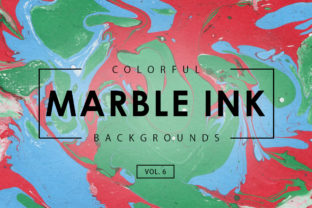 Colorful Marble Ink Backgrounds 6 Graphic By ArtistMef