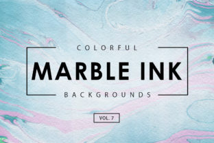 Colorful Marble Ink Backgrounds 7 Graphic By ArtistMef