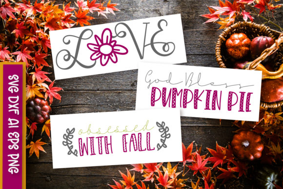 Print on Demand: Colors of Autumn Graphic Crafts By Justina Tracy - Image 2