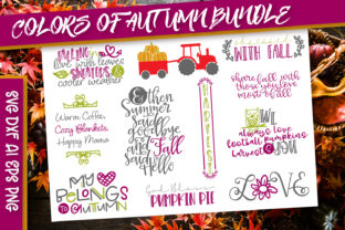 Colors of Autumn Graphic By Justina Tracy