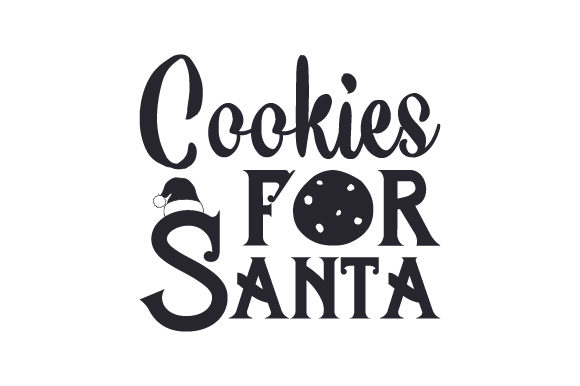Download Free Cookies For Santa Svg Cut File By Creative Fabrica Crafts for Cricut Explore, Silhouette and other cutting machines.