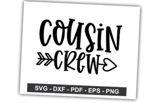 Cousin Crew Graphic By svgbundle.net