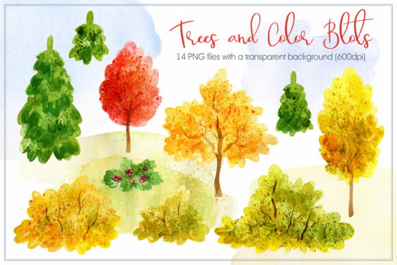 Cozy Fall. Watercolor Animals and Plants Graphic By Olga Belova Image 4